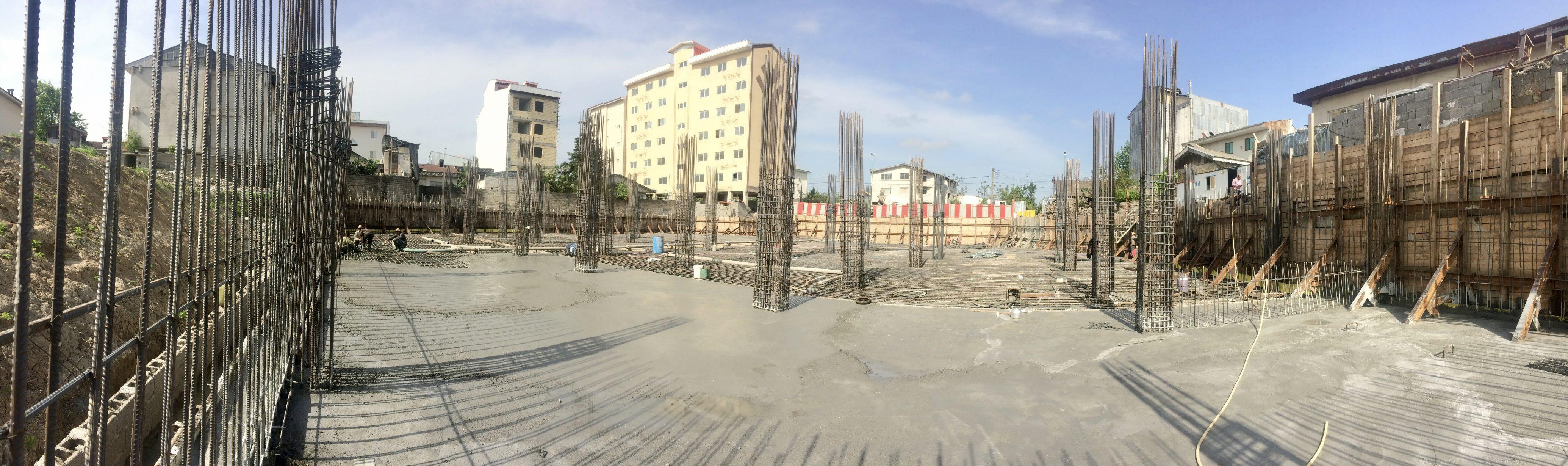 پروژه تجارى ساختمان اطبا